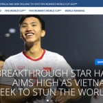 FIFA: 'Van Hau is the most promising star in Asia'
