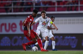 Thitipan scored a superb goal in the Thai League